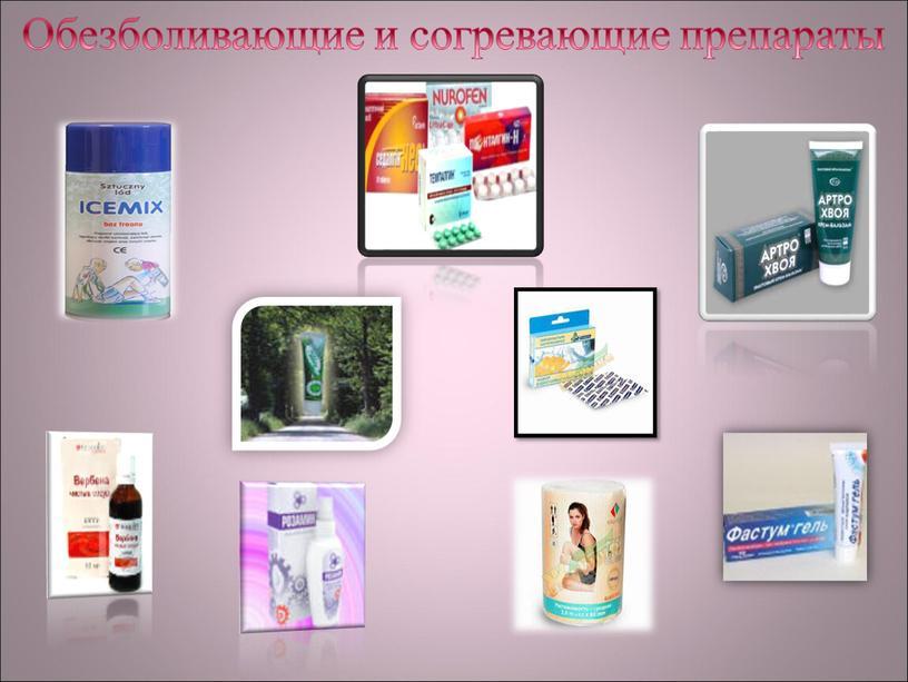 Обезболивающие и согревающие препараты