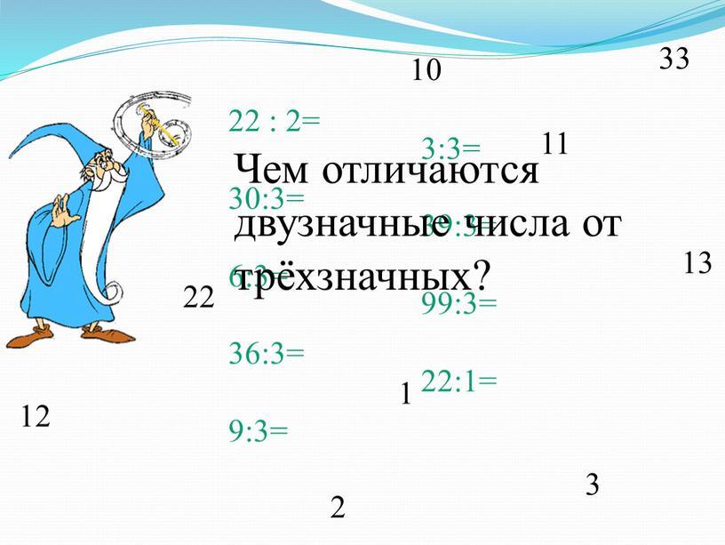 Чем отличаются двузначные числа от трёхзначных?