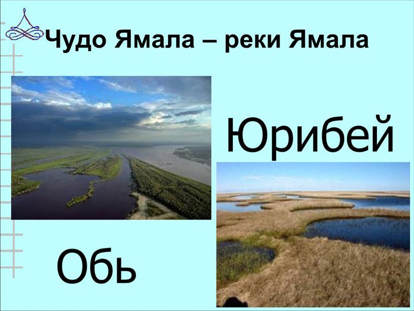 Чудо Ямала – реки Ямала Обь Юрибей