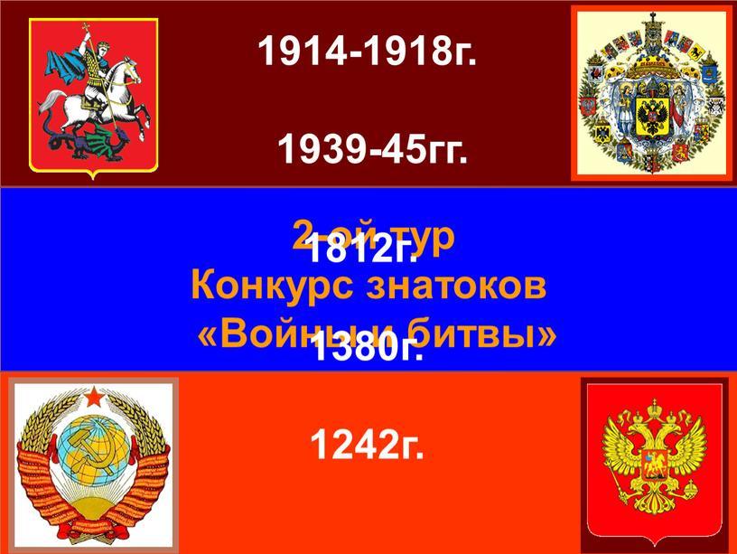 Конкурс знатоков «Войны и битвы» 1914-1918г
