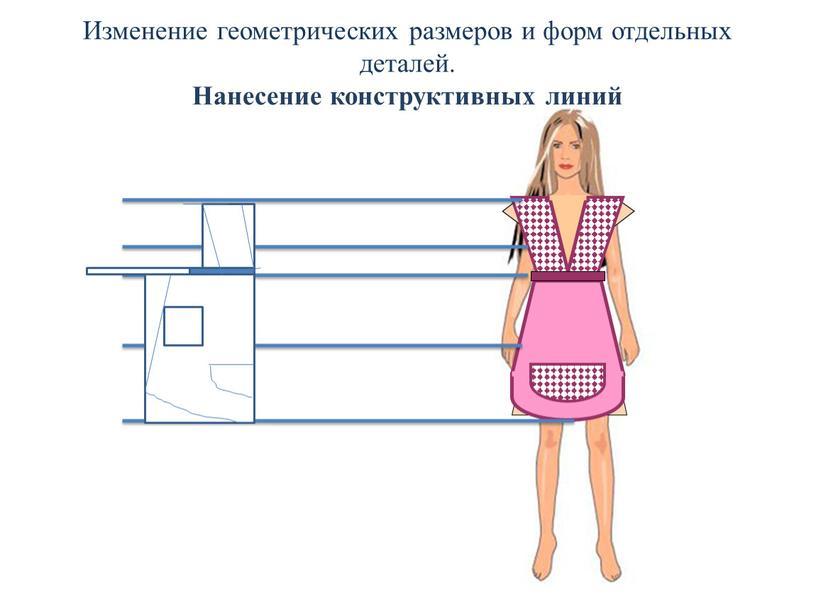 Изменение геометрических размеров и форм отдельных деталей