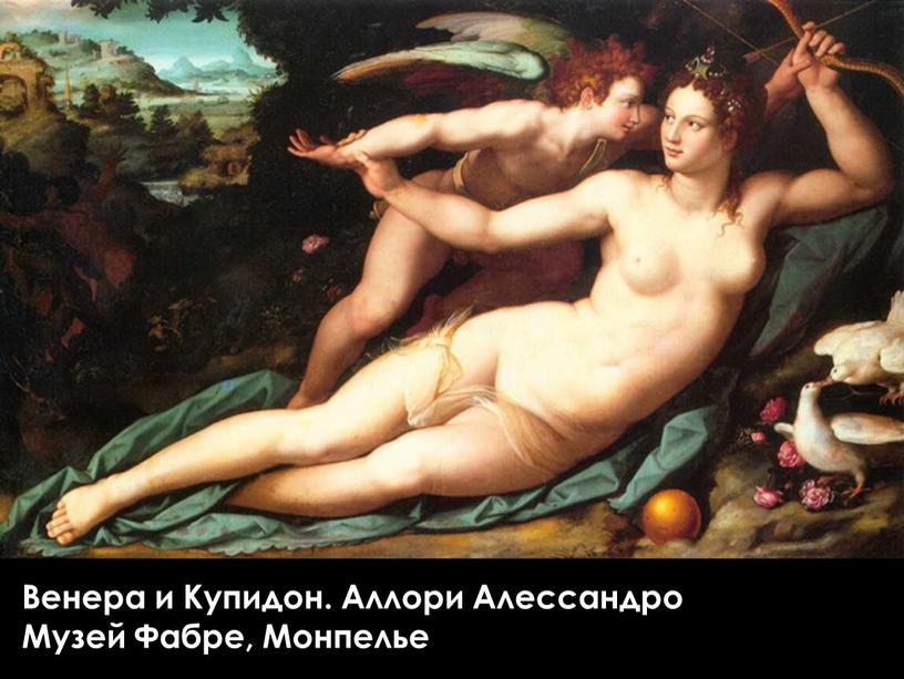 Венера и Купидон. Аллори Алессандро