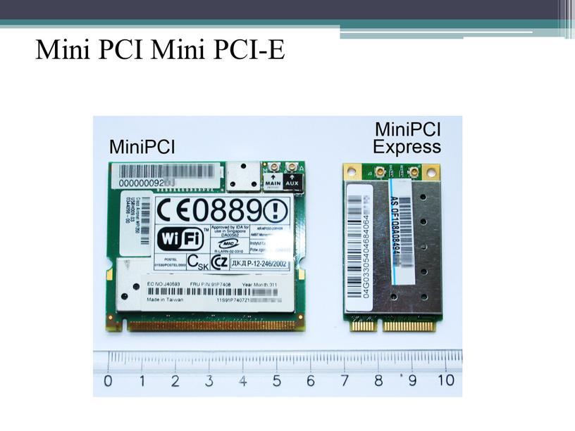 Mini PCI Mini PCI-E