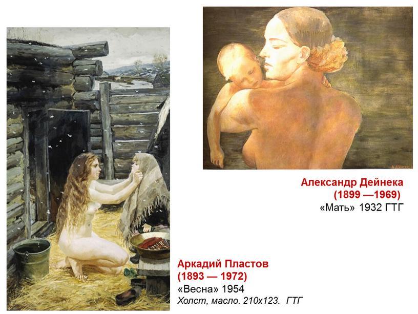 Александр Дейнека (1899 —1969) «Мать» 1932