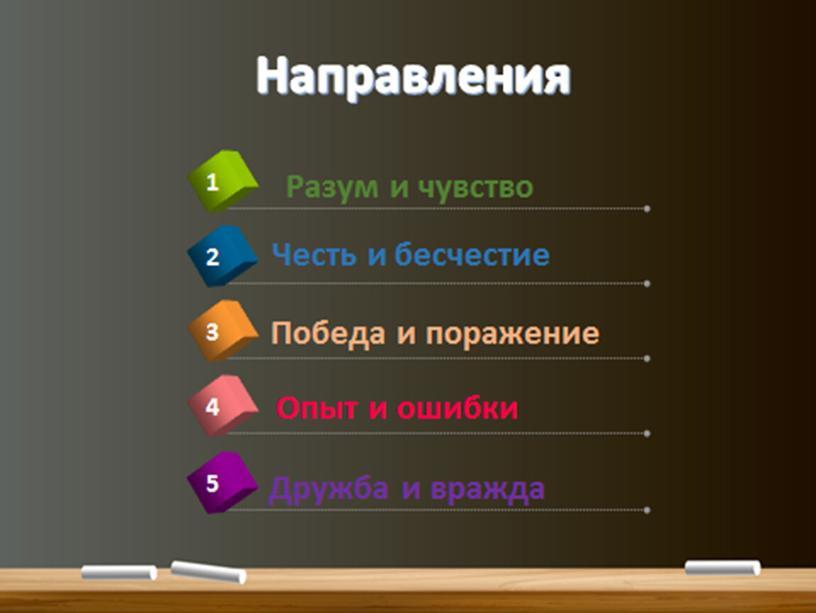 """Материалы консультации№ 4  по литературе ,направление """"Разум - чувства"""""""