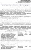 Инновационные подходы сопровождения одарённых и талантливых детей в предметных областях «Русский язык» и «Литература»