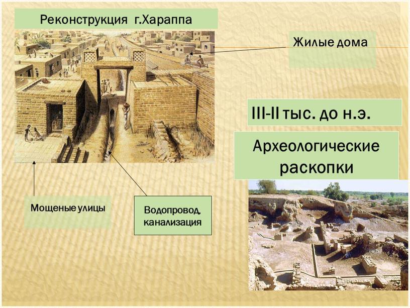 Мощеные улицы III-II тыс. до н