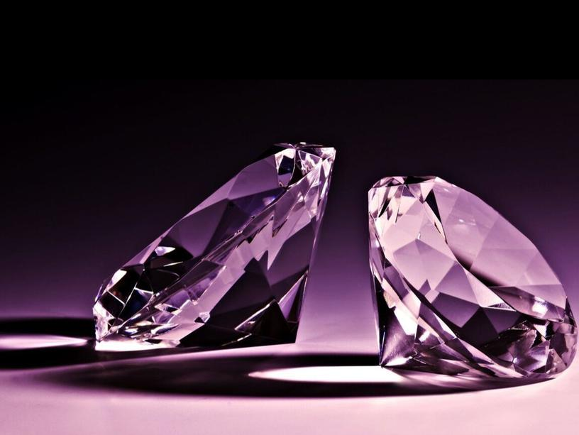 "Презентация по химии, 9 класс ""В мире алмазов"""