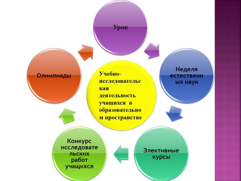 Учебно-исследовательская деятельность учащихся в образовательном пространстве