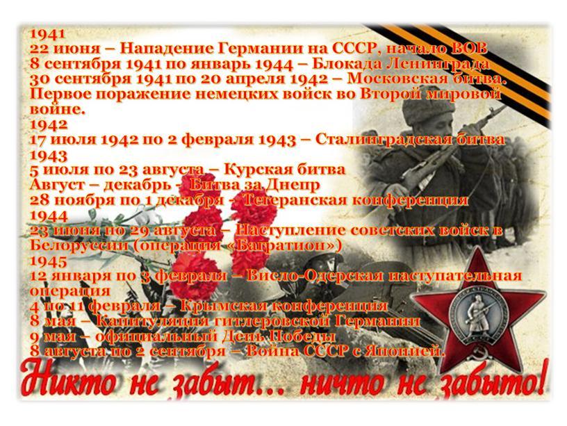 Нападение Германии на СССР, начало