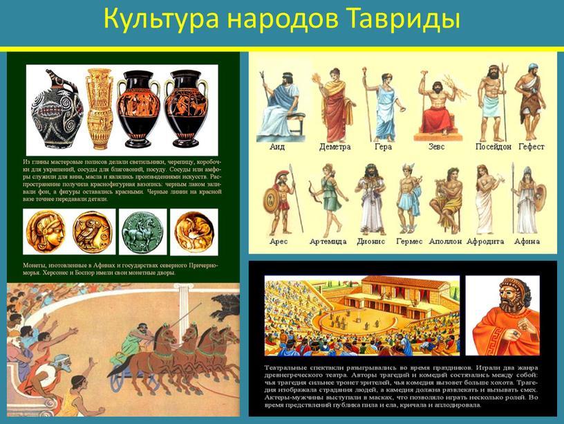 Культура народов Тавриды