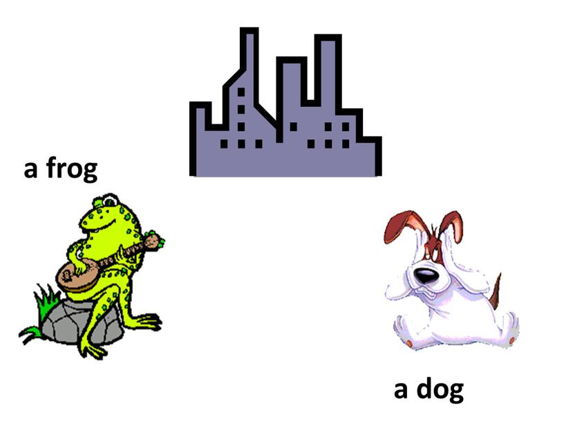 a frog a dog