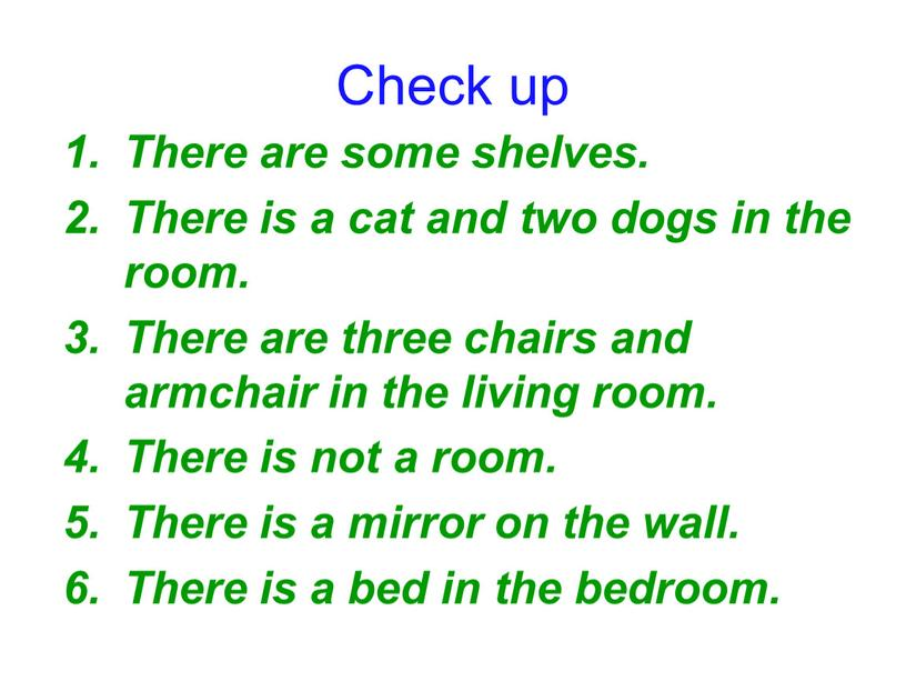 There are some shelves. There is a cat and two dogs in the room