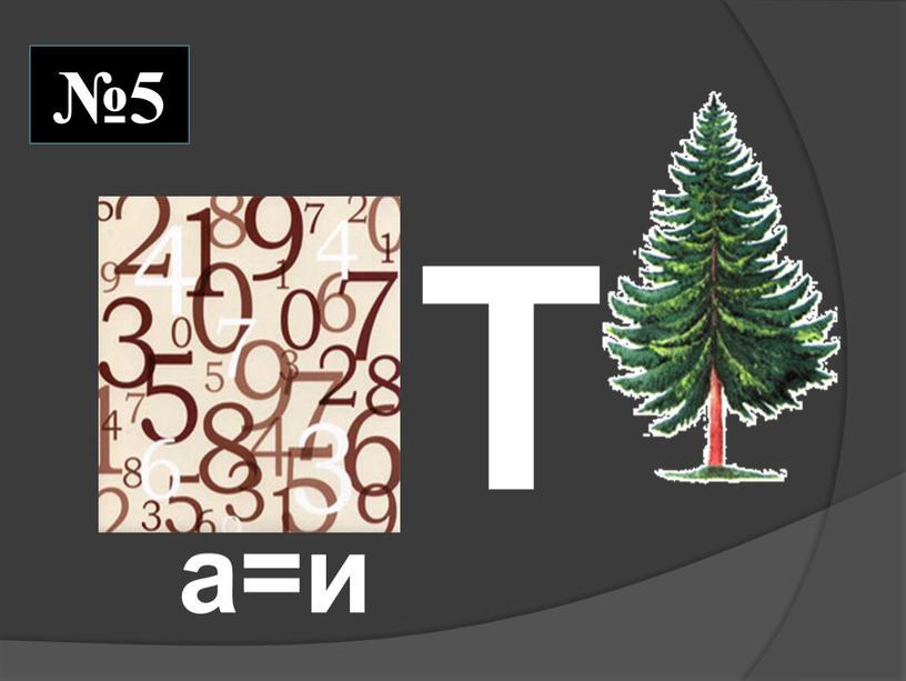 Т а=и №5