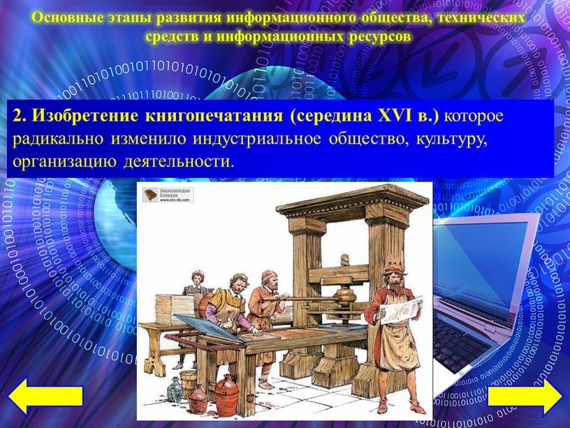 Изобретение книгопечатания (середина
