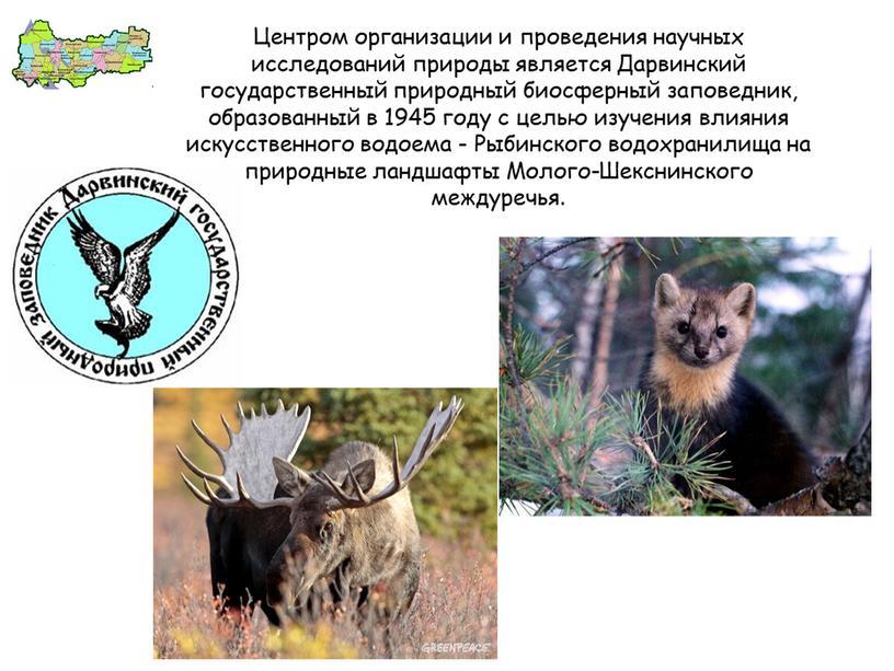 Центром организации и проведения научных исследований природы является
