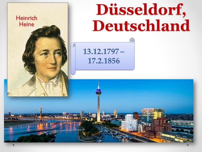 Düsseldorf, Deutschland 13.12