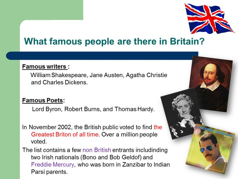 What famous people are there in