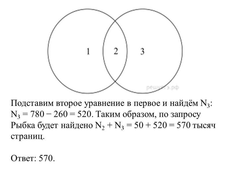 Подставим второе уравнение в первое и найдём