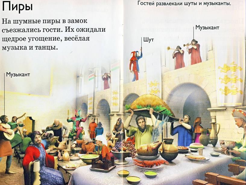 """Презентация по истории средних веков """"В рыцарском замке. Средневековый рыцарь"""""""