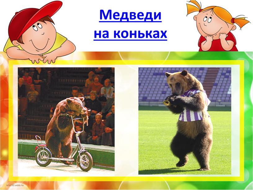 Медведи на коньках