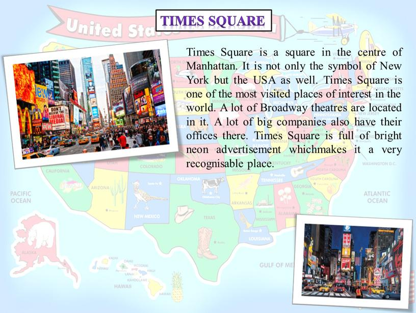 Times Square Times Square is a square in the centre of