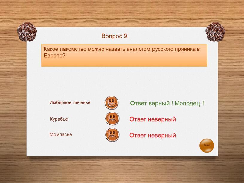 Какое лакомство можно назвать аналогом русского пряника в