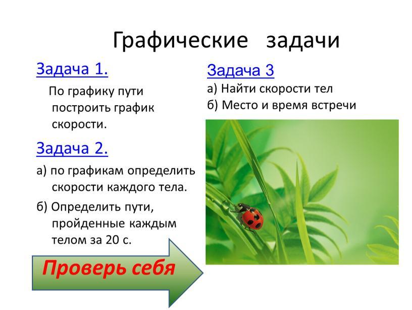 Графические задачи Задача 1.