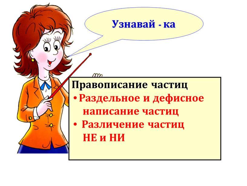 Правописание частиц Раздельное и дефисное написание частиц