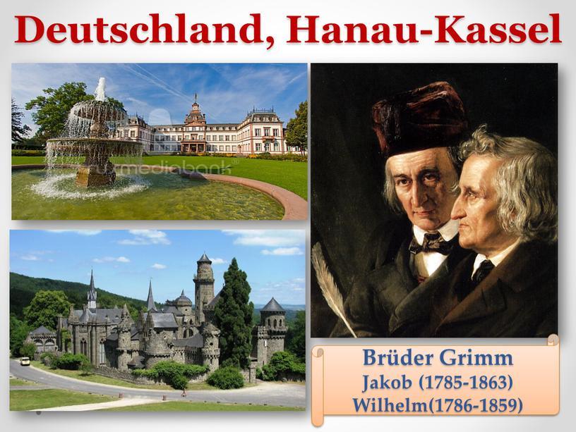 Deutschland, Hanau-Kassel Brüder
