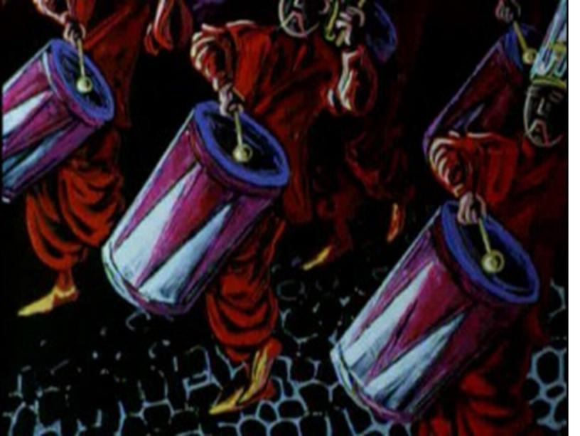 Рисуем «Турецкое рондо» В.А.Моцарта