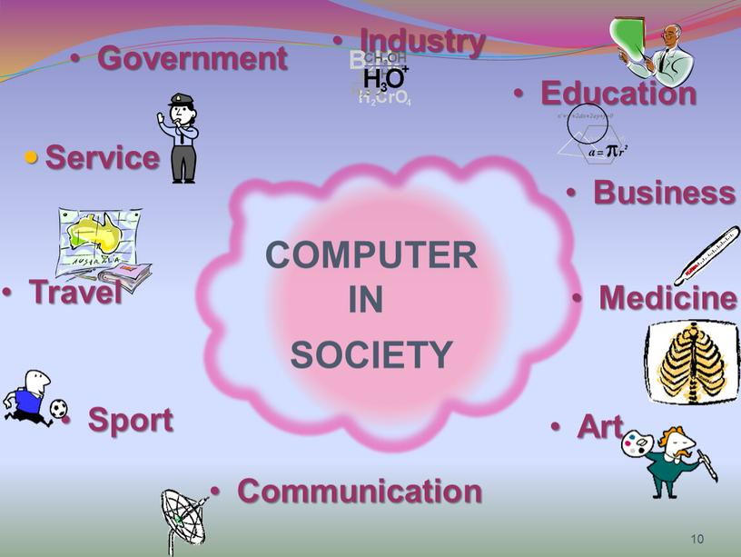 Service COMPUTER IN SOCIETY Business