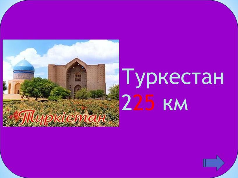 Туркестан 225 км