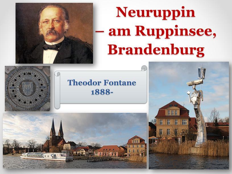 Neuruppin – am Ruppinsee, Brandenburg