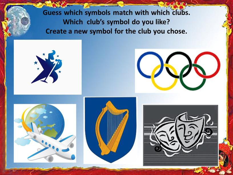 Guess which symbols match with which clubs