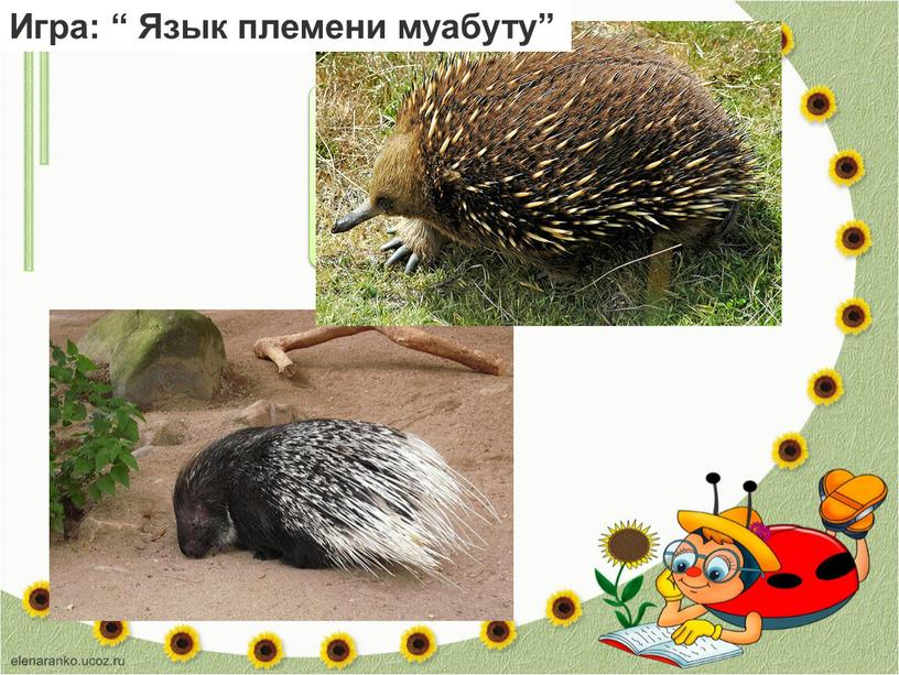 "… Игра: "" Язык племени муабуту"""