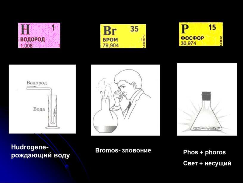 Hudrogene-рождающий воду Bromos- зловоние