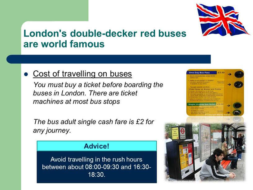 London's double-decker red buses are world famous