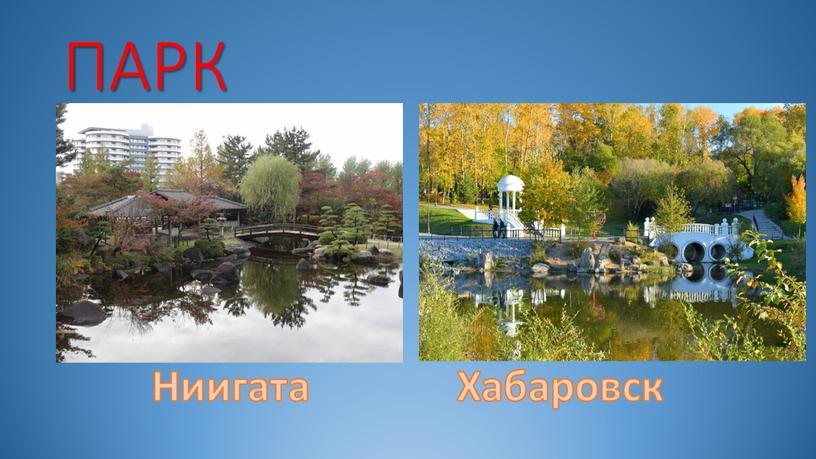 ПАРК Ниигата Хабаровск