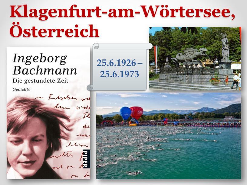Klagenfurt-am-Wörtersee, Österreich 25