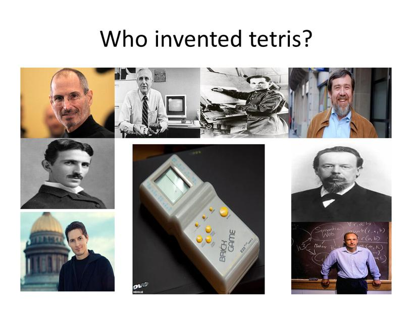 Who invented tetris?