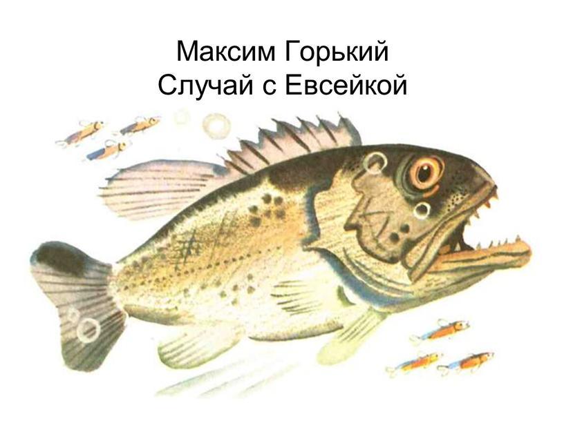 Максим Горький Случай с Евсейкой