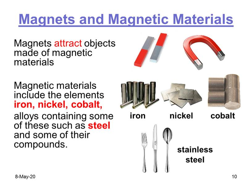 Magnets and Magnetic Materials