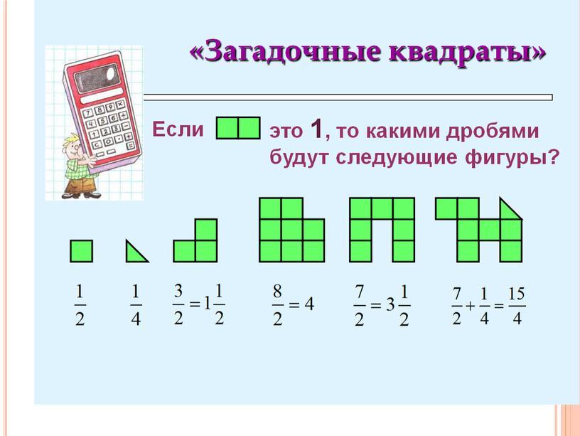 Разработка урока математики