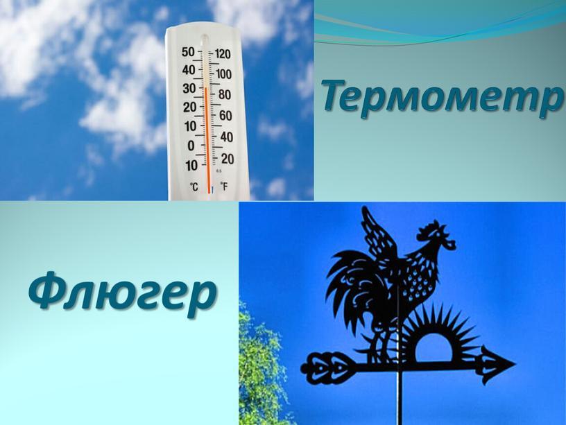 Термометр Флюгер