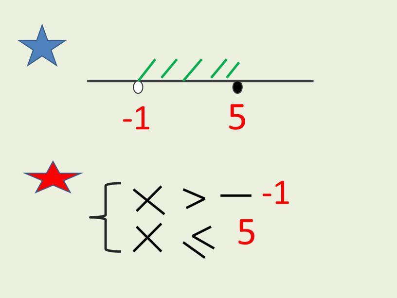 5 -1 -1 5