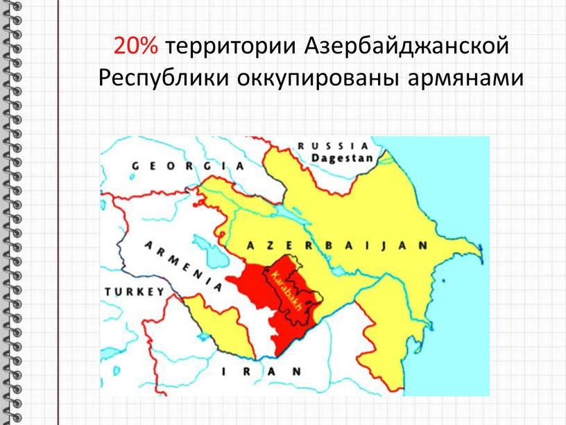 Азербайджанской Республики оккупированы армянами
