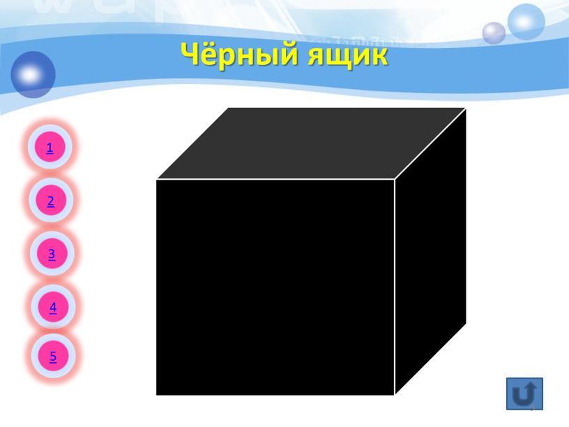 Чёрный ящик 1 2 3 4 5 9