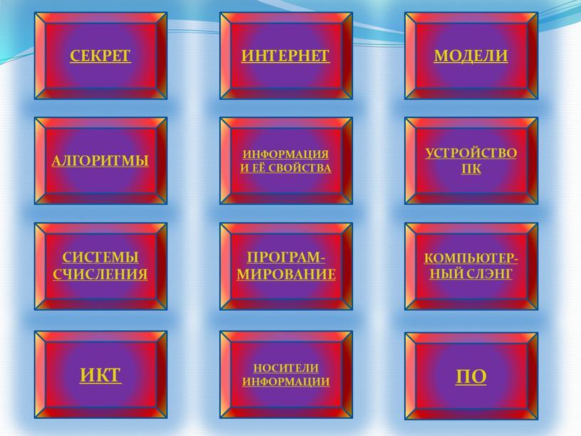 СЕКРЕТ ИНТЕРНЕТ МОДЕЛИ АЛГОРИТМЫ