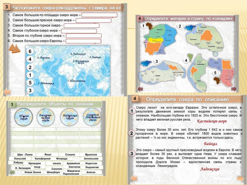 Тренажеры для учащихся работа с картой на уроках географии